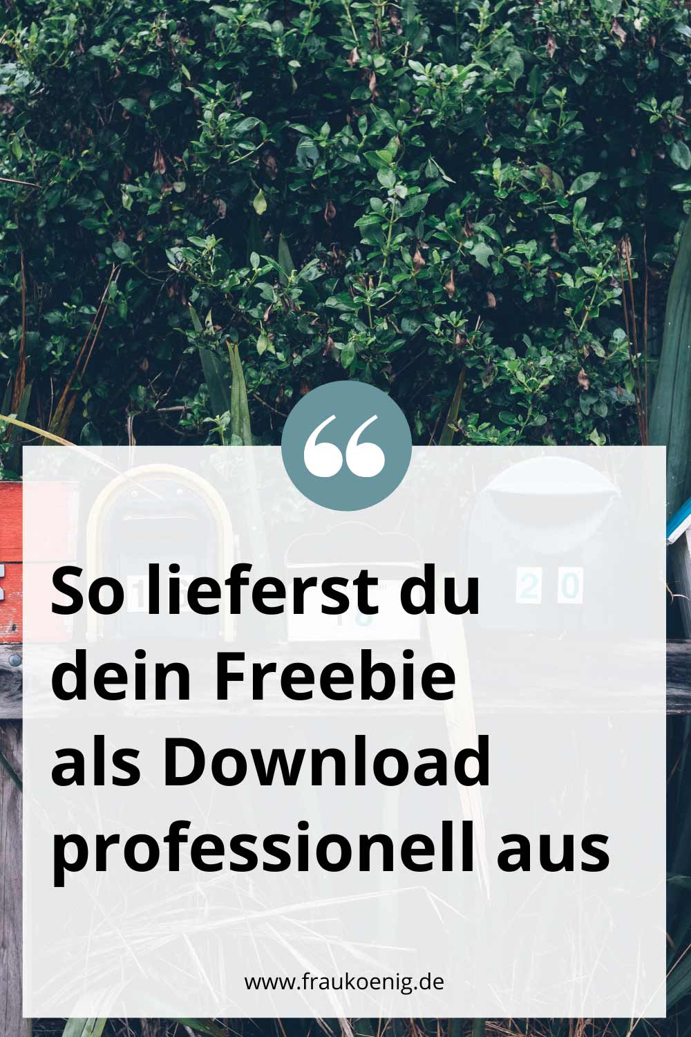 So lieferst du dein Freebie als Download professionell aus