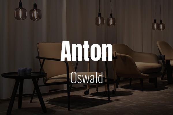 Schriftpaare für Website und Social Media: Anton und Oswald.