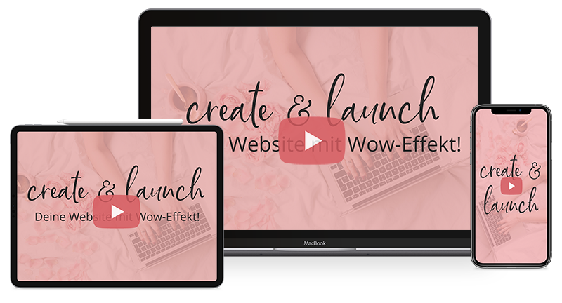 Onlinekurs create 6 launch - Wordpress für Anfänger