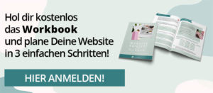 Links: Workbook Website-Konzept