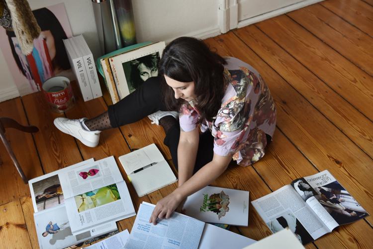 Grafikerin Sarah Müller