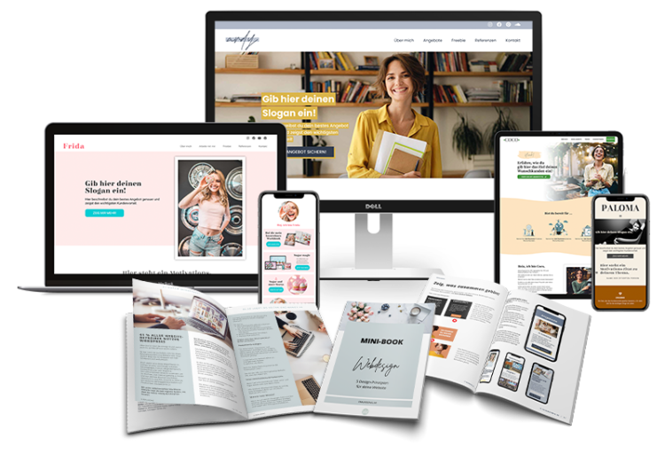 style and launch Onepager Website Templates